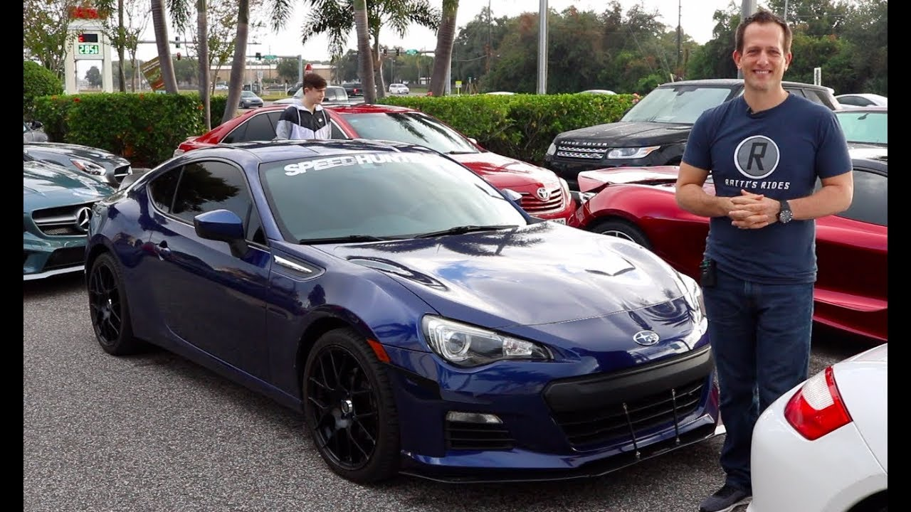 What MODS make a 2013 Subaru BRZ standout from the crowd?
