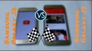 Samsung Galaxy J2 Vs Samsung Galaxy J7 - Speed Test  Surprising Results
