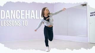 Дэнсхолл Уроки/Dancehall Tutorials | Lesson 10 - Footloose, Step Ova,  Nuh Linga
