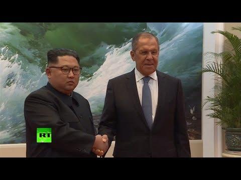 Сергей Лавров провёл встречу с Ким Чен Ыном