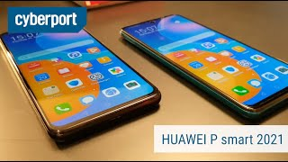 Das HUAWEI P smart 2021 im Hands On | Cyberport