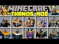 Minecraft THANOS MOD! l CRAFT INFINITY GAUNTLET AND BECOME THANOS! l Modded Mini-Game