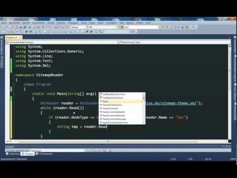 XML in C# - XmlReader