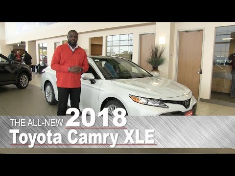 All New 2018 Toyota Camry XLE - Minneapolis, St Paul, Brooklyn Center, MN | Walk Around