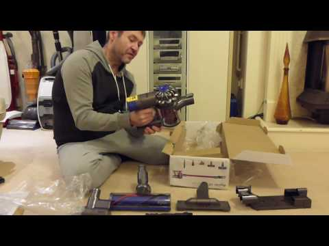 Unboxing / First Look: Dyson V6 Absolute (UK) cordless handstick vacuum cleaner