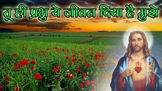 "तू ही प्रभु ये जीवन ""Tu Hee Prabhu ye Jeevan"" Hindi Christian Song (With Lyrics) karaoke Songs"
