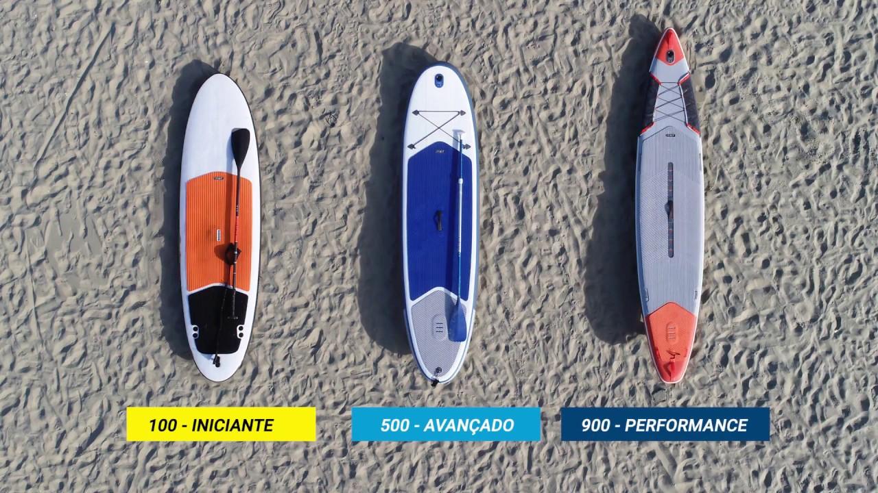 b288559ab Como escolher a prancha de stand up paddle - Exclusividade Decathlon ...