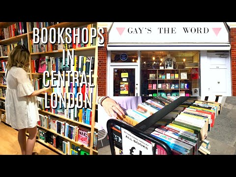 My Favourite Bookshops  In Central London