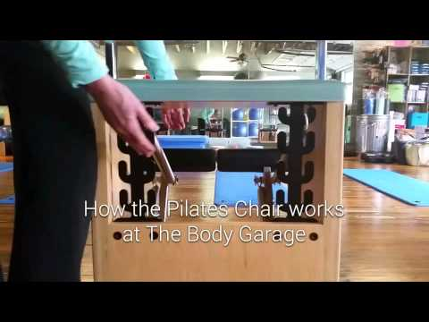 How the Pilates Chair works at The Body Garage Pilates studio