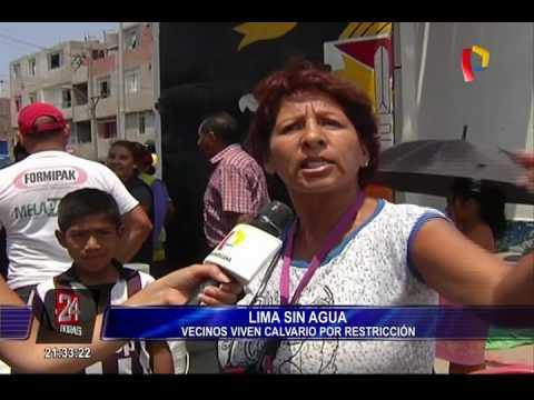 WhatsApp: Colas en todo Lima para conseguir agua [FOTOS]