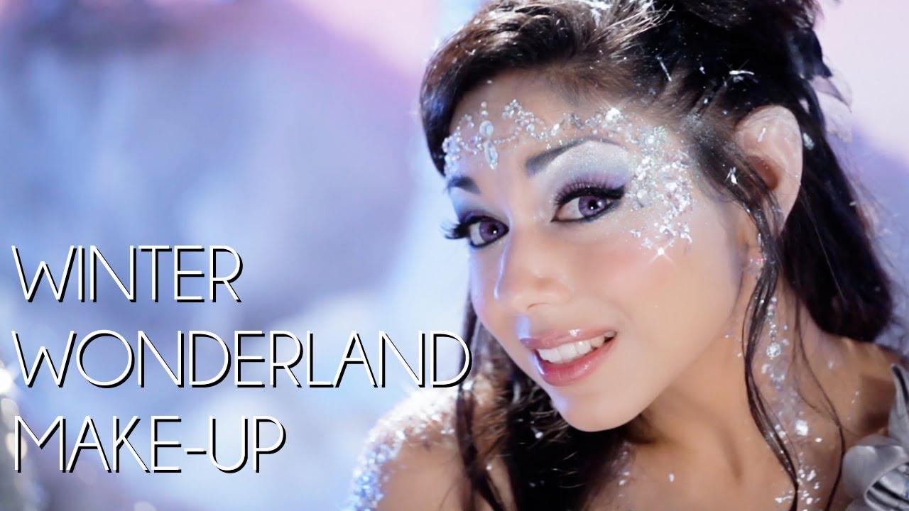 Winter wonderland makeup tutorial youtube baditri Image collections