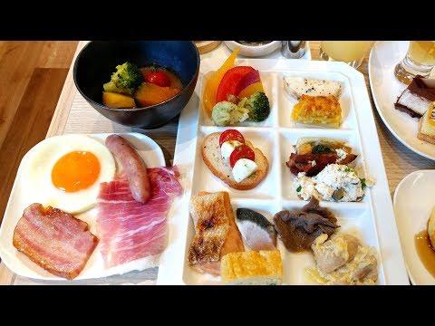 Japan Top Breakfast Buffet. Yuuyoo Terrace, Sapporo Hokkaido センチュリーロイヤルホテル