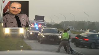 CAUGHT ON CAMERA: Florida trooper hit by car while investigating crash