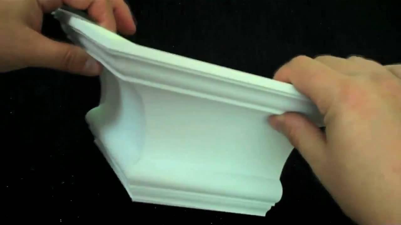 PreMitered Molding Corners  YouTube