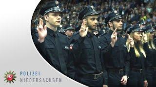 Polizei Niedersachsen  -  Vereidigung  2017