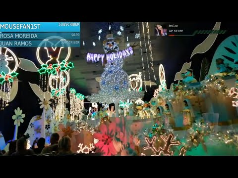 🔴 : The FIRST Day of Holidays & Christmas at Disneyland 2018 IRL  Stream 11918 $1TTS