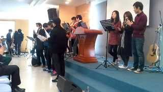 온가족예배 중고등 청년부