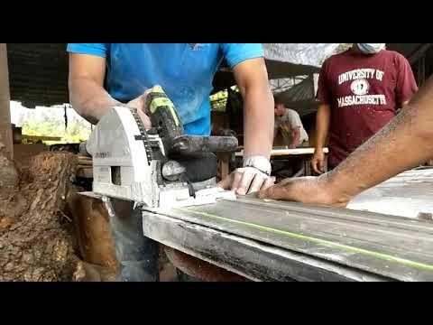 proses pemotongan epoxy table top