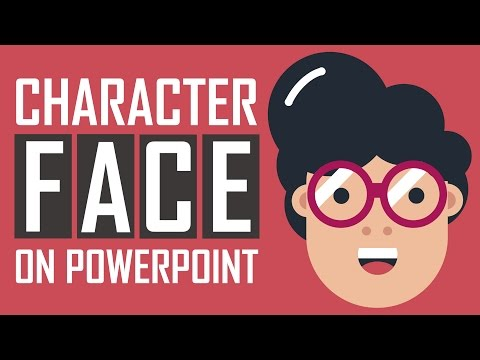 PowerPoint Tutorial - Cartoon Character Face Design