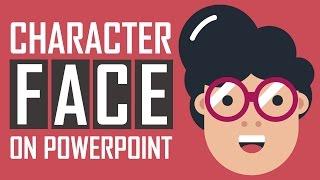 PowerPoint Tutoriel - Personnage De Dessin Animé Dessin De La Face