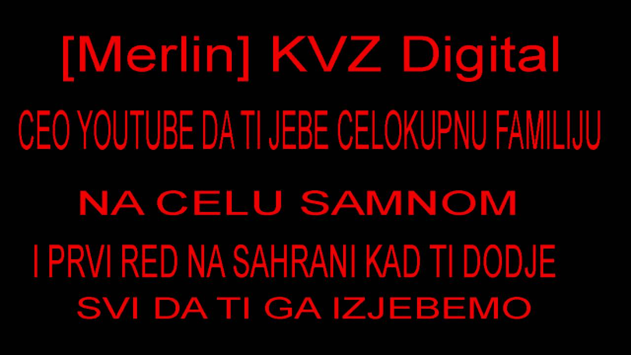 Merlin] KVZ Digital - Najveci olos i prevarant na youtube