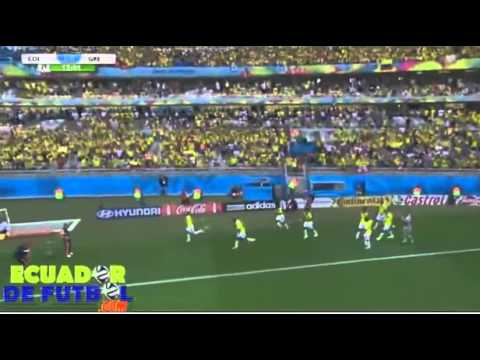 Colombia 3-0 Greece / All Goals / World Cup /14.06.2014