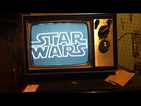 Star Wars 1986 VHS Tape