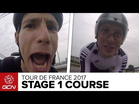 Tour de France Stage 1 Course Preview – Riding The Düsseldorf Time Trial