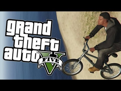 GTA 5 Next Gen - FLYING BMX BIKE GLITCH AND STUNTS - Grand Theft Auto V Funny Moments