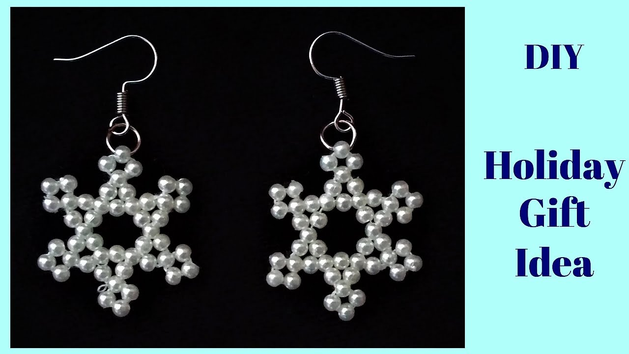 DIY Holiday Jewelry Idea . Easy and Affordable Christmas Present ...