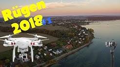 Rügen Urlaub 2018 #1   Neuendorf - Putbus   mit Drohnenaufnahmen