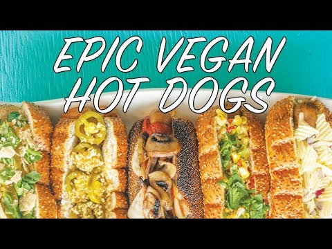 THE 10 BEST VEGAN GOURMET HOT DOG TOPPINGS | The Edgy Veg