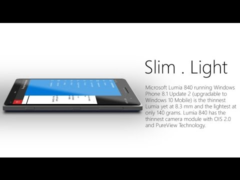 Microsoft Lumia 840 Concept With Windows Phone 8.1 Update 2 ᴴᴰ