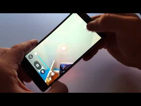 LG G Flex 2 How to Make the Front Facing Camera Full Screen