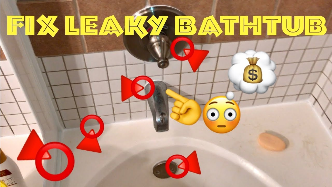 💧How to Fix A Leaky Bathtub | Most Common Leaks Around Bathtub ...