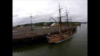 DJI Phantom 2 Vision fly by Lady Washington