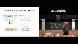 MIT 6.004 L17: Virtual Memory