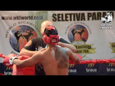 Romulo vs Hermelino - Campeonato Brasileiro Kickboxing WKF 2016