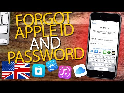 If you FORGOT BOTH APPLE ID AND APPLE ID PASSWORD | Step by Step (2018)