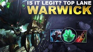 IS WARWICK TOP LANE ACTUALLY LEGIT? | League of Legends