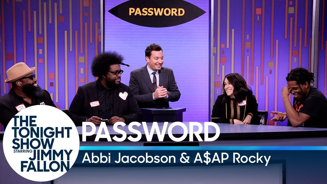 Download Password with Abbi Jacobson and A$AP Rocky