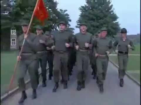 full metal jacket - singing marines, all cadences