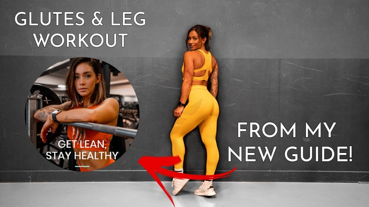 <div>Try A Workout From My New Guide For FREE – Glutes & Leg Session</div>