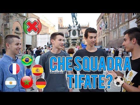 Gli ITALIANI Che Squadra Tiferanno al Mondiale? ● Interviste Mondiali Russia 2018