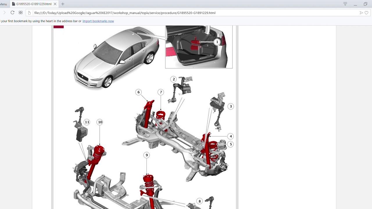 2016 2018 Jaguar XE X760 Offline Workshop Manual + Wiring