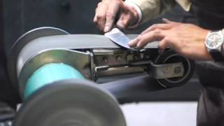 Blade Sharpening Using Belts