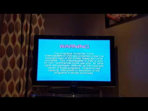 Original VHS Opening: Jonah: A VeggieTales Movie (USA Retail Tape)