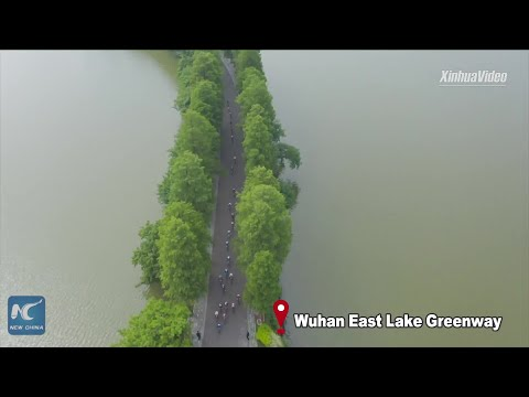 Stunning aerial view: Venues of Military World Games in Wuhan, China