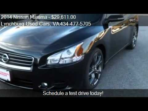 2014 Nissan Maxima 35 Sv Wsport Pkg For Sale In Forest Youtube
