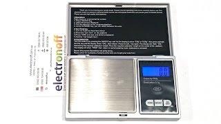 Цифрові ювелірні ваги Digital Scale-500 500 р. Відео огляд ваг від Electronoff.ua